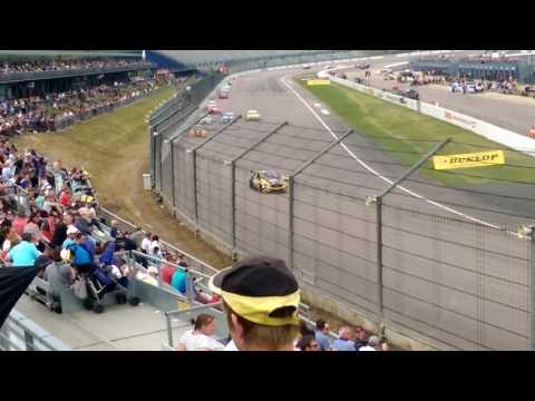 COLIN TURKINGTON spin & save  BTCC ROCKINGHAM 2016 Race2