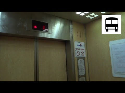 Blk 411 Pandan Gardens, Singapore - Toshiba Traction Elevator