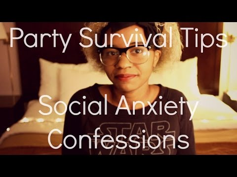 Party Survival Tips | Social Anxiety Confessions