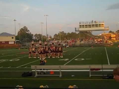 Poquoson High School Junior Varsity Cheer 2012