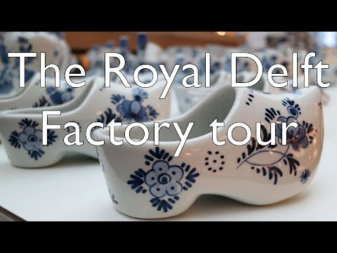 Things to do in Delft – Tour the Royal Delft Factory and Museum