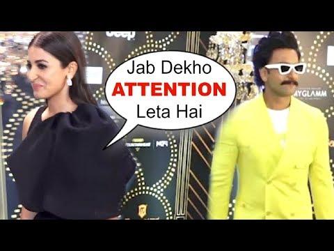 Anushka Sharma ANNOYED On Seeing Bf Ranveer Singh At HT Most Stylish Awards 2019 Mp3