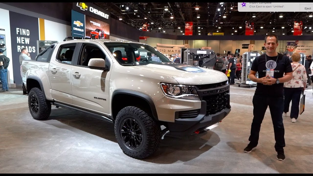 What are the MAJOR changes for the 2021 Chevy Colorado ZR2 ...