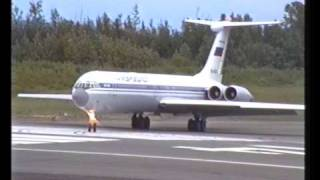 Aeroflot IL-62 Anchorage