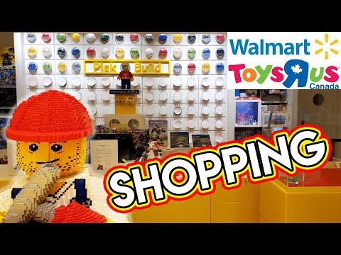 Shopping LEGO At Walmart, LEGO Store, & ToysRus