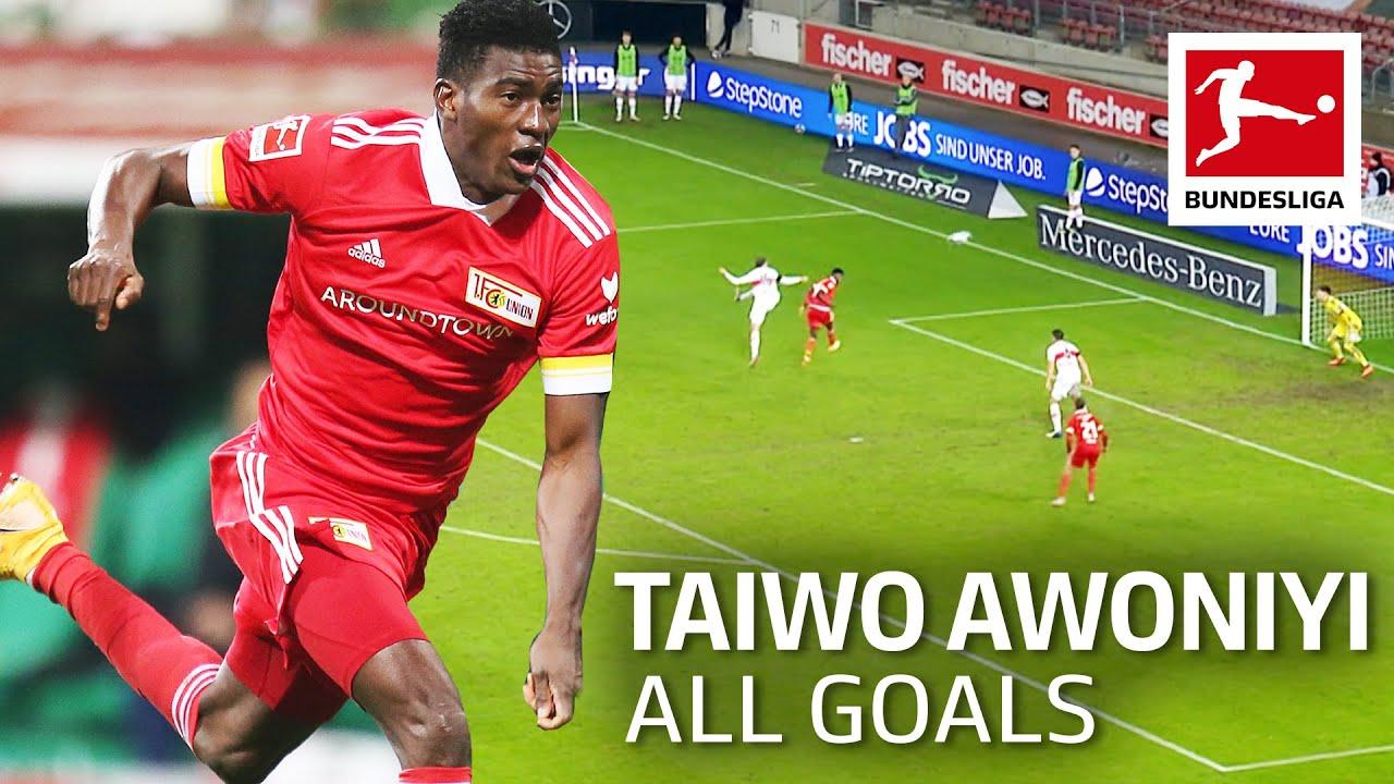 Download Liverpool loanee dazzles Union Berlin - All Goals Taiwo Awoniyi so far