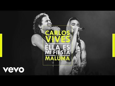 Carlos Vives - Ella Es Mi Fiesta ft. Maluma