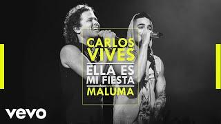 Carlos Vives - Ella Es Mi Fiesta (Remix [Cover Audio]) ft. Maluma