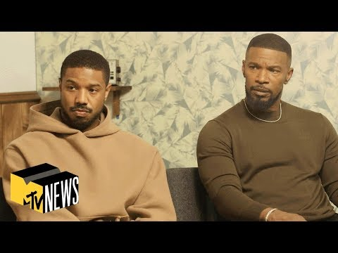 Jamie Foxx & Michael B. Jordan Talk New Film 'Just Mercy' | MTV News