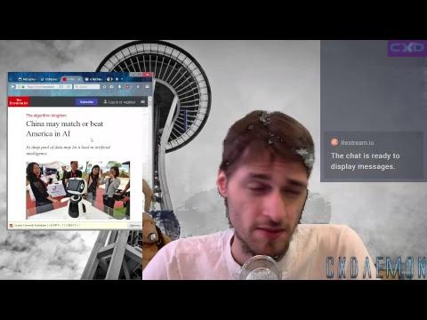 Tech Cyberpunk Cyberspace News - #LetsTalk - Breakfast Broadcast
