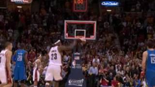 LeBron James Hits the Amazing Game-Winner vs Magic
