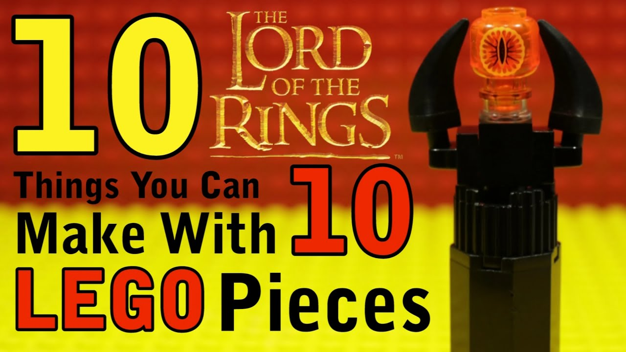 Download 10 Lord of the Rings Things You Can Make With 10 Lego Pieces