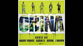 Anuel AA Karol G Daddy Yankee Ozuna Ft J Balvin China Audio 8D By Eight D Music