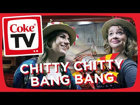 Behind the Scenes at Chitty Chitty Bang Bang w/ Dodie! | #CokeTVMoment