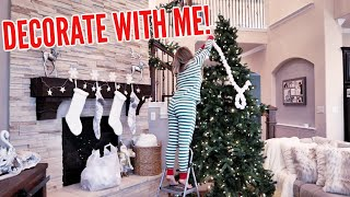 DECORATE FOR CHRISTMAS WITH ME 2019! | Aaryn Williams