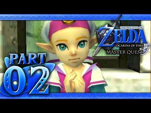 The Legend Of Zelda Ocarina Of Time 3d Master Quest Part 2 Princess Zelda Youtube