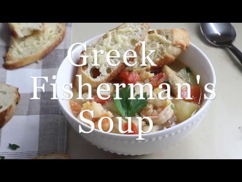 Greek Fisherman's Soup | Healthy Greek Fish Stew