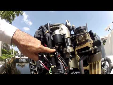 yamaha outboard starter troubleshooting and replacement Yamaha 200 Outboard Wiring Diagram 2007 jumping tachometer