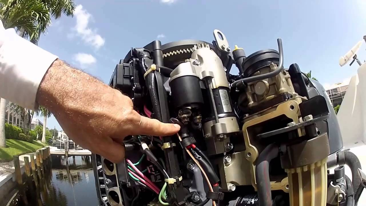 yamaha 90hp outboard wiring diagram for solar panel to battery starter troubleshooting and replacement youtube