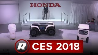 CES 2018: Honda debuts robots that'll NOT take our jobs, but to help humanity thumbnail