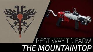 Destiny 2: Best Way to Farm The Mountaintop