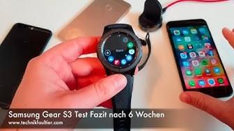 Samsung Gear S3 Test Fazit nach 6 Wochen