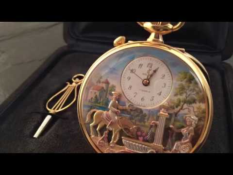POCKET WATCH REUGE MUSICAL 4 AUTOMATON
