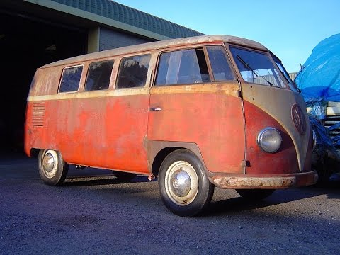 1951 Vw Barndoor Standard Bus Youtube