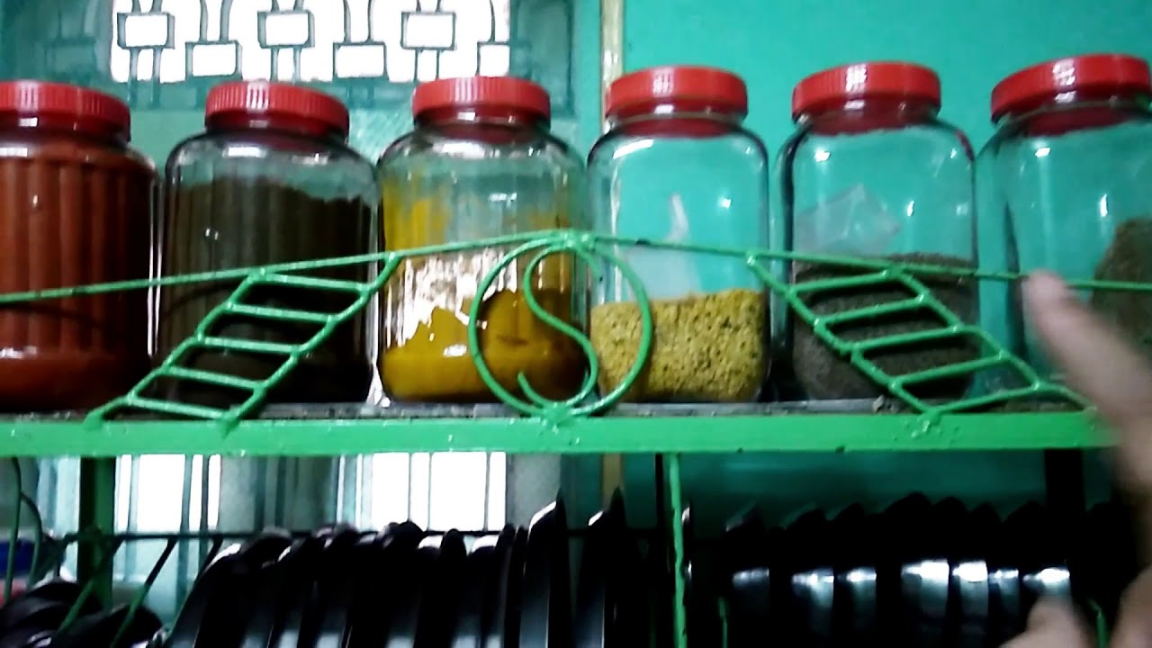 How to organize steel utensils in non modular kitchen in Hindi - YouTube