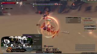 天谕 炎天 Revolution online Стрелок 52lv против Хангмар 60lv играя в первые за стрелка