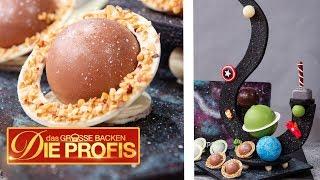 5 Kilo Galaxy 3D-Kuchen: Marvel Superhelden Torte | Das große Backen - Die Profis  | SAT.1