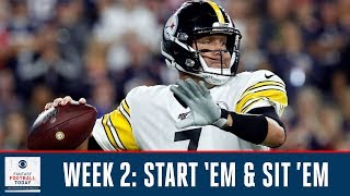 Week 2 Start 'Em & Sit 'Em | Full Episode | Fantasy Football Today