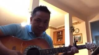 BEN THUONG HAI (Solo Guitar) ( 上海灘 ) Shanghai Grand