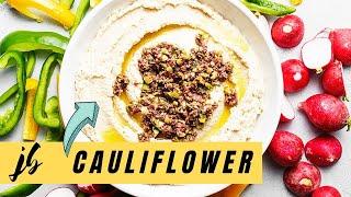 Keto Hummus - Cauliflower Hummus