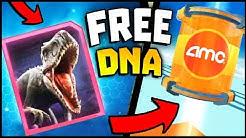 Jurassic World - How TO Get Free DNA, 7000+, Indominus Rex & More! (Jurassic World Alive)