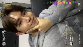 [191207] Full Wanna One's Kim Jaehwan's insta live - 워너원 김재환…