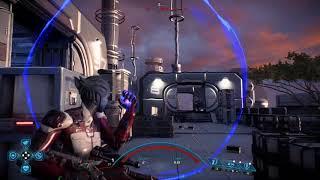 Asari Sentinel with Kishock Siphon Platinum Solo (Mass Effect Andromeda)