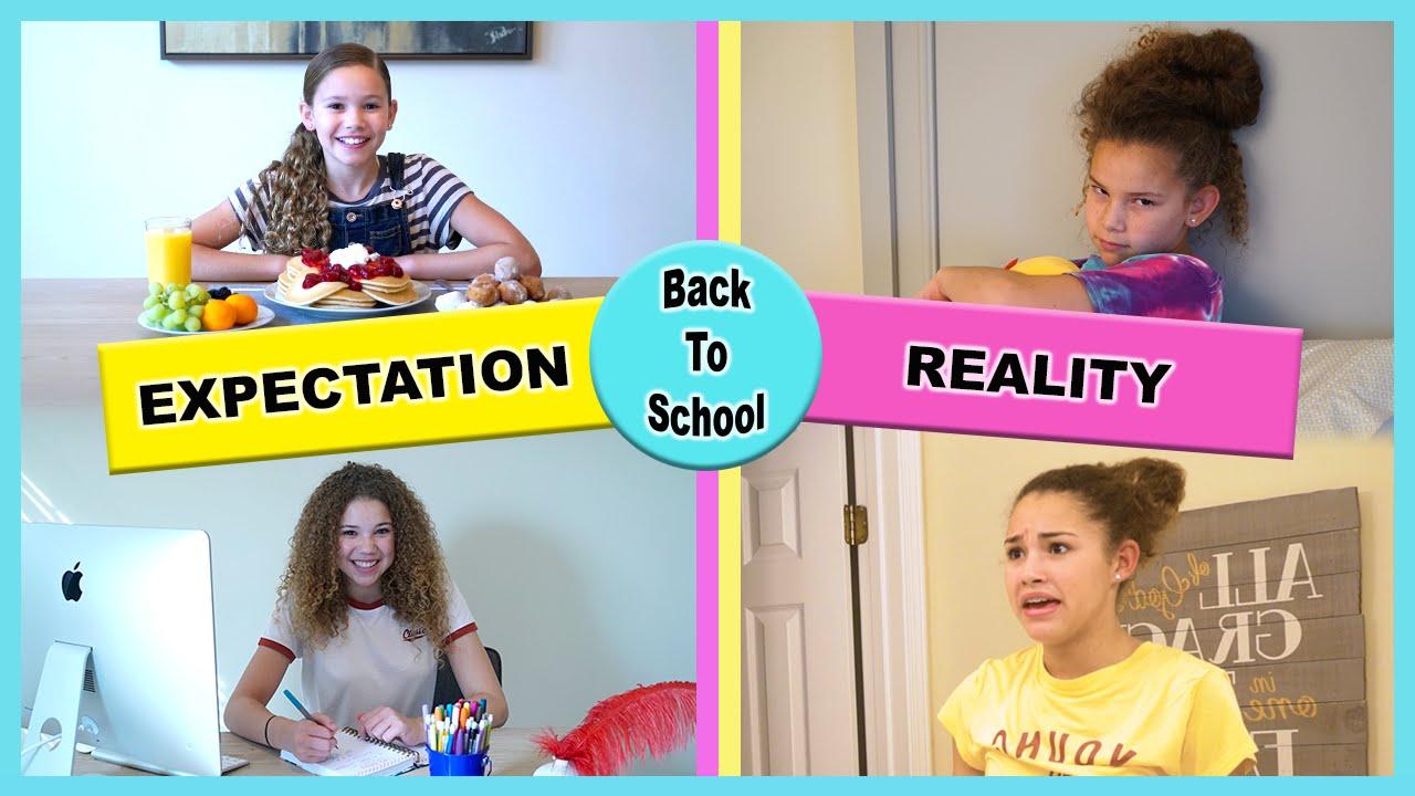 expectation vs reality youtube