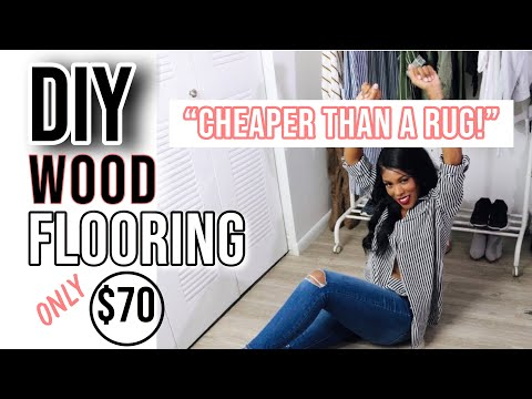 BEST DIY PEEL-AND-STICK Vinyl FLOORING INSTALLATION TIPS👌🏽| MARBLE FLOORING | APARTMENT HACK