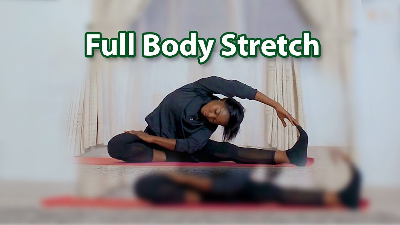 10 Minutes Full Body Stretches. For Beginners. Flexibility Routine Before WorkOut. DRIP Fitness.