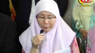 TVSelangor09 05042011 Video Fitnah   Taktik Busuk, Jelek Dan Jijik, Kata Wan Azizah