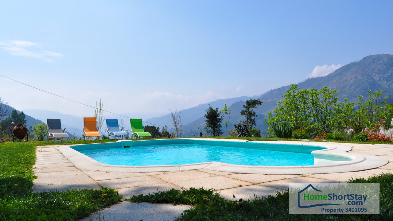 maison de vacances avec piscine en ger s nord du portugal youtube. Black Bedroom Furniture Sets. Home Design Ideas