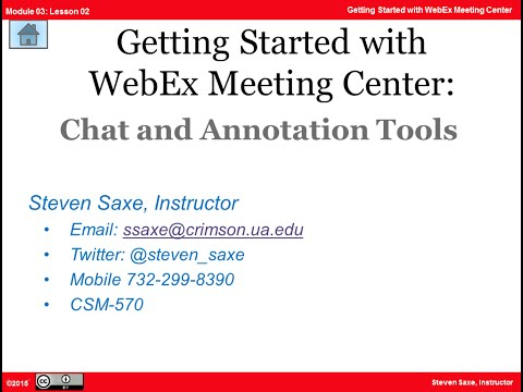 Chat And Annotation Tools