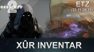 Destiny 2 Forsaken: Xur Standort & Inventar (23.11.2018) (Deutsch/German)