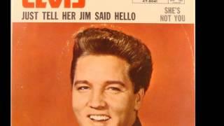 "Elvis Presley ""She's Not You"""