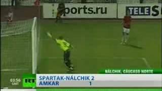 Vea el curioso gol de la Liga Premier Rusa que remeció YouTube