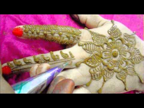 Apply Mehndi Hands : How to apply mehendi on hand new indian floral henna mehndi design