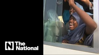Hundreds of abducted schoolgirls reunited with families