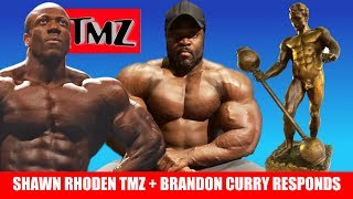 Shawn Rhoden Confronted by TMZ + Brandon Curry Responds + Buying a Sandow Trophy