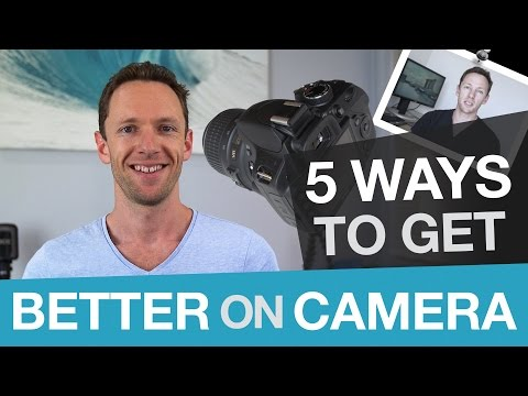 How To Get Comfortable on Camera, Faster!